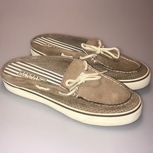 SPERRY Leather Slip-Ons